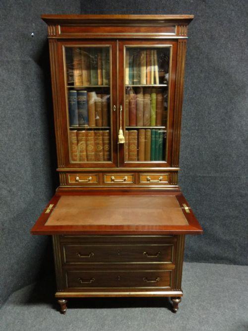 Antikes französisches Bücherregal Massivholz ca 1880