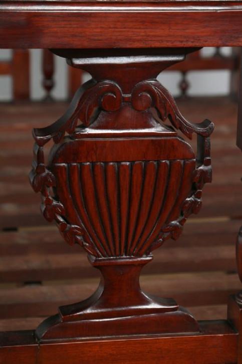 Viktorianisches antikes Mahagoni Himmelbett anglo-indisch ca 1880
