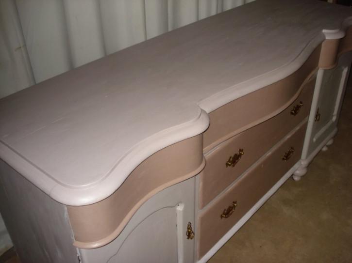 Viktorianisches antikes Sideboard Massivholz britisch 19. Jh