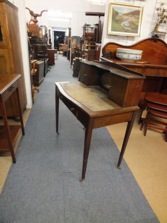 Antiker edwardianischer Schreibtisch Mahagoni englisch ca 1890
