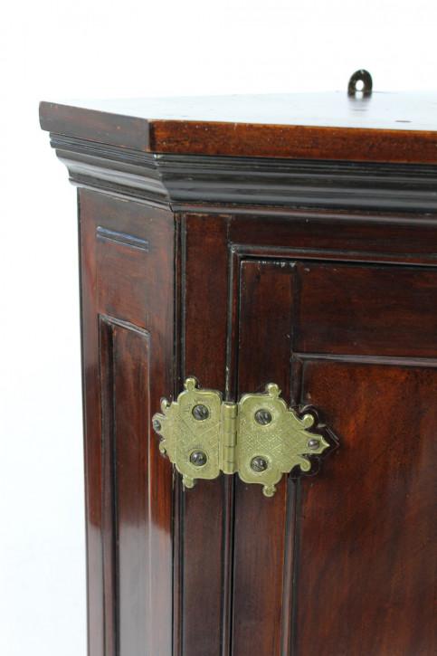 Antiker Arts & Crafts Mahagoni Eckschrank Schrank Hängeschrank britisch ca 1890