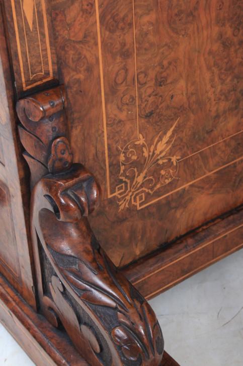Antiker britischer Davenport Schreibtisch Mahagoni ca 1870