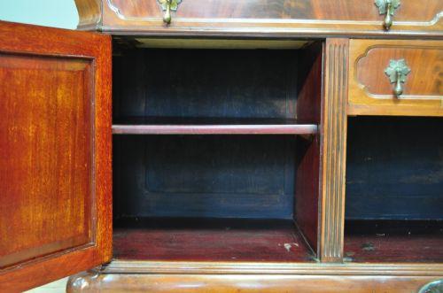 Antikes britisches Mahagoni Sideboard ca 1920