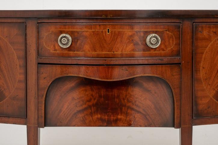 Georgianisches Mahagoni Sideboard antik britisch ca 1900
