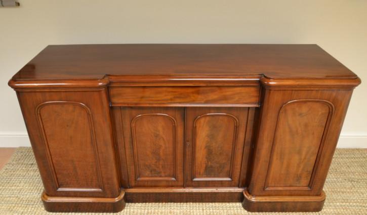 Viktorianisches antikes Mahgoni Sideboard britisch ca 1870