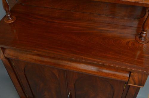 Viktorianisches Mahagoni Sideboard britisch antik ca 1850