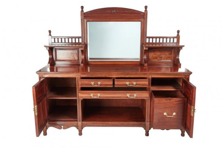 Antikes britisches Mahagoni Sideboard ca 1880