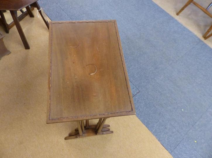 Antike edwardianische Mahagoni  Nest of tables britisch ca 1890