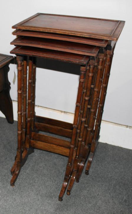 Edwardianische antike Mahagoni  Nest of tables  britisch ca 1890
