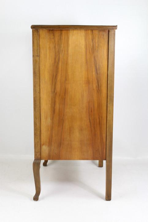 Antike Art Deco Nussbaum Kommode englisch ca 1930