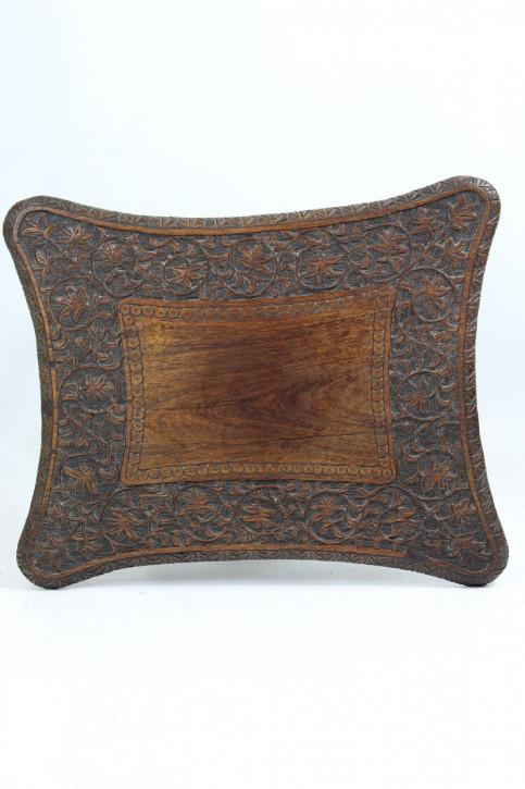 Viktorianischer Indischer Antiker Padouk Holz Beistelltisch ca. 1890