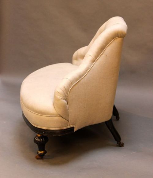 Regency Antikes Englisches ebonisiertes Sofa ca. 1820