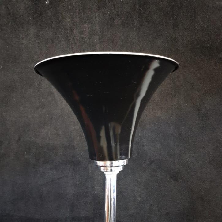 Art Deco Chrom Stehlampe britisch antik ca 1930