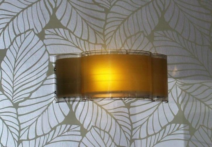 Antike Art Deco Wandlampen Chrom britisch ca 1930