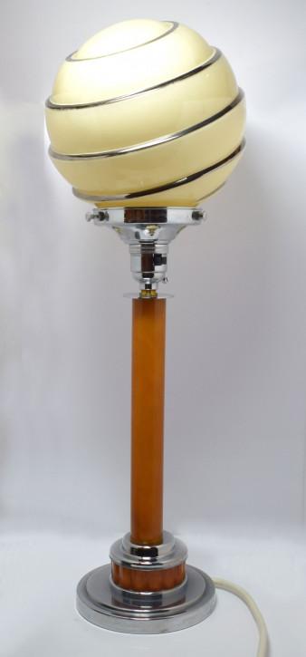 Antike Art Deco Bakelit Tischlampe britisch ca 1930