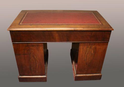 Antiker Mahagoni Schreibtisch britisch ca 19. Jh
