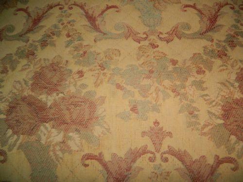 Antikes britisches Mahagoni Stoff Sofa Couch ca 1900