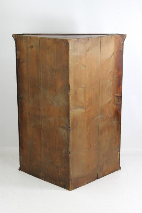 Georgianischer antiker Mahagoni Eckschrank britisch ca 1800