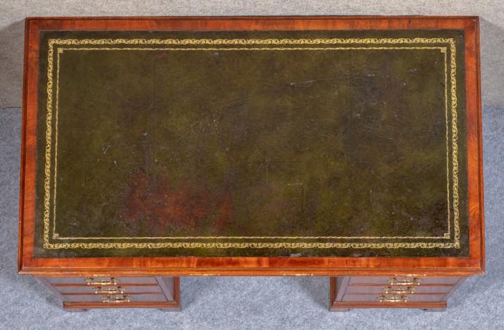 Antiker britischer Mahagoni Schreibtisch edwardianisch ca 1890