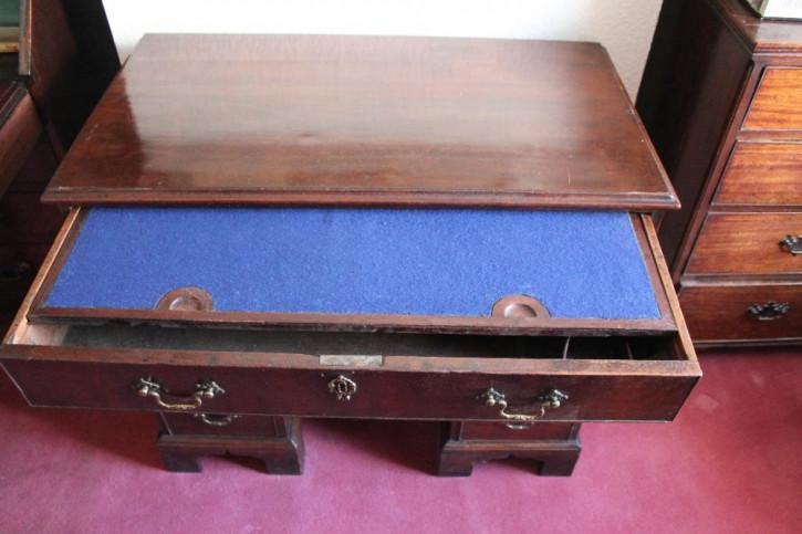 Antiker georgianischer Schreibtisch Mahagoni englisch ca 1800
