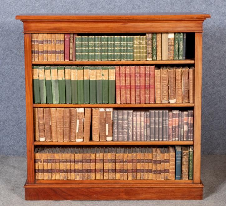 Antikes britisches Bücherregal Mahagoni viktorianisch ca 1900