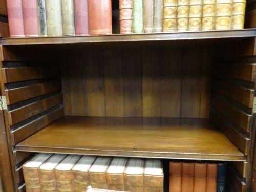 Georgianischer antiker Mahagoni Bücherschrank britisch ca 1900