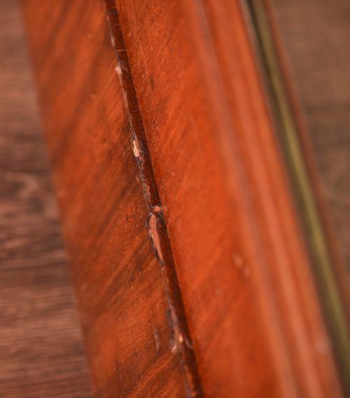 Viktorianischer antiker Mahagoni Kleiderschrank britisch ca 1860