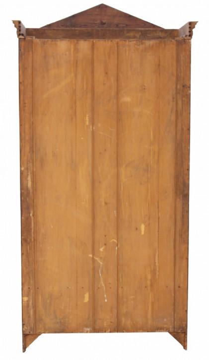 Antiker viktorianischer Eschen Kleiderschrank britisch ca 19. Jh