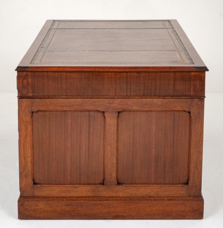 Antiker Englischer Mahagoni Schreibtisch ca. 1920