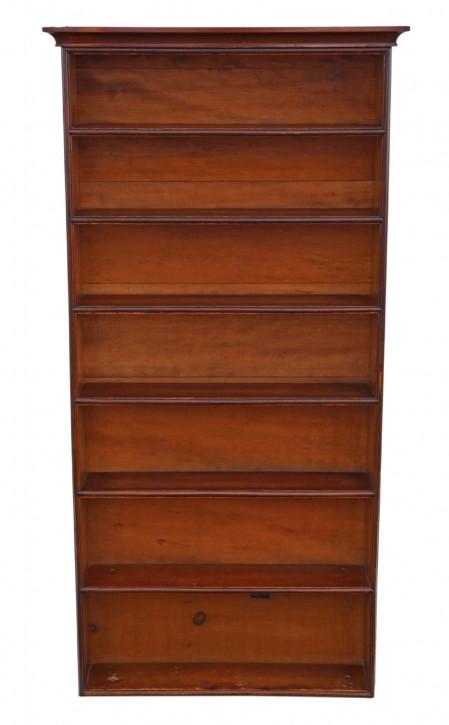 Viktorianisches antikes Mahagoni Bücherregal englisch ca 1870