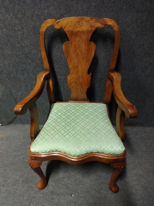 Antike britische Mahagoni Stühle ca 1910
