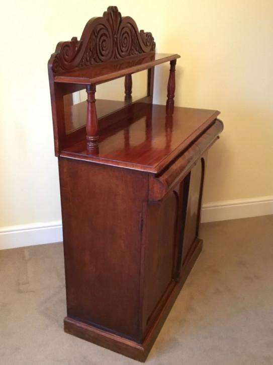 Viktorianisches antikes Mahagoni Sideboard Chiffonier englisch ca 1980
