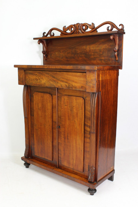 Viktorianisches antikes Mahagoni Sideboard englisch ca 1850