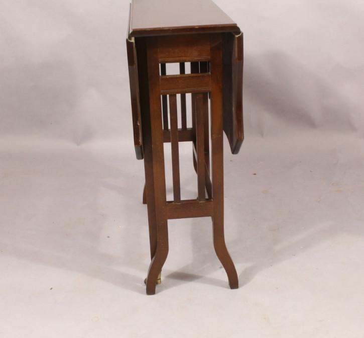 Viktorianischer antiker Sutherland Tisch Mahagoni ca 1880