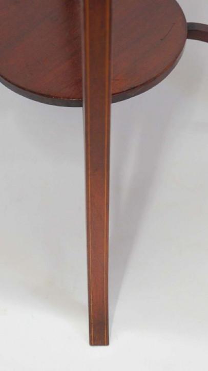 Edwardianischer antiker Mahagoni Beistelltisch englisch ca 1900
