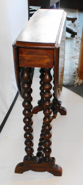 Viktorianischer antiker Nussbaum Tisch Sutherland englisch ca 1880