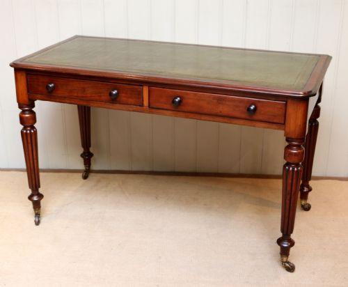 Antiker Mahagoni Schreibtisch englisch ca. 1860