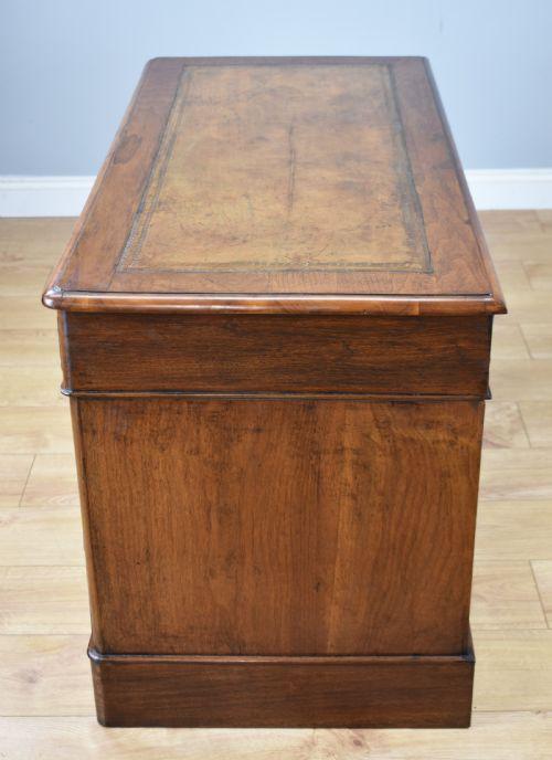 Englischer Antiker Mahagoni Schreibtisch viktorianisch ca. 1860