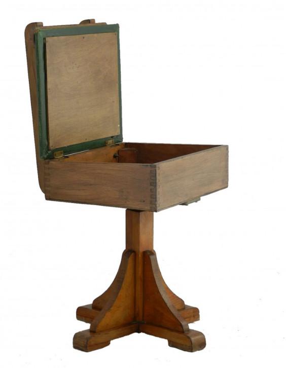 antiker Kinderschreibtisch und Stuhl, Art Deco, 1930