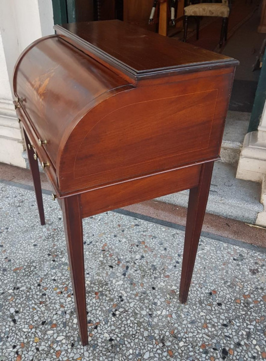 antiker edwardian Schreibtisch
