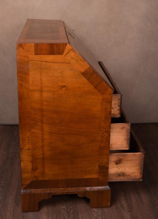 Walnuss Schreibpult Sekretär Ledereinlage Antik 18. Jahrhundert