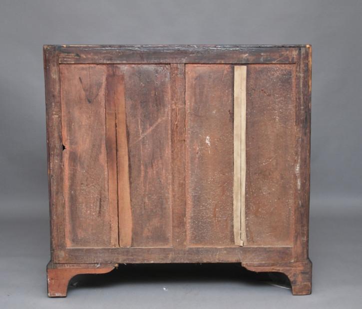 Mahagoni Bureau Sekretär Massivholzschrank Antik Eichen-Schubladen ca. 1780