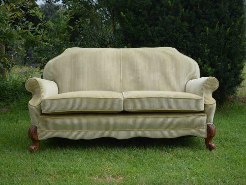Antik Bergere Sofa Zwei Sitzer Couch antik Nussbaumca. 1880