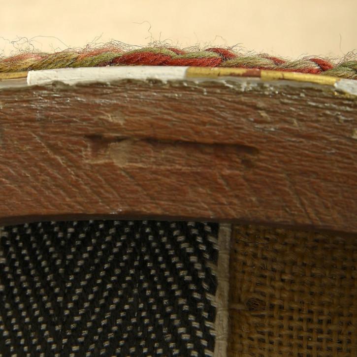 antiker Staz von Sessel 1830 Massivholz englisch