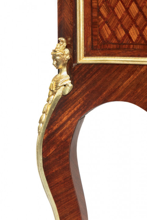antike Vitrine Veilchenholz Massivholz 19. Jahrhundert