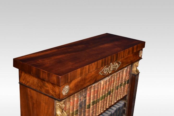 antikes Paar von Bücherschränken Mahagoni Massivholz 19. Jahrhundert