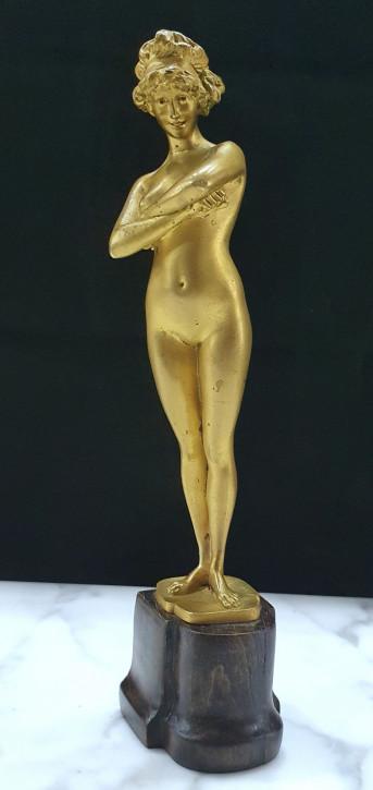 Antike vergoldete Bronzeskulptur aus dem frühen 20. Jahrhundert