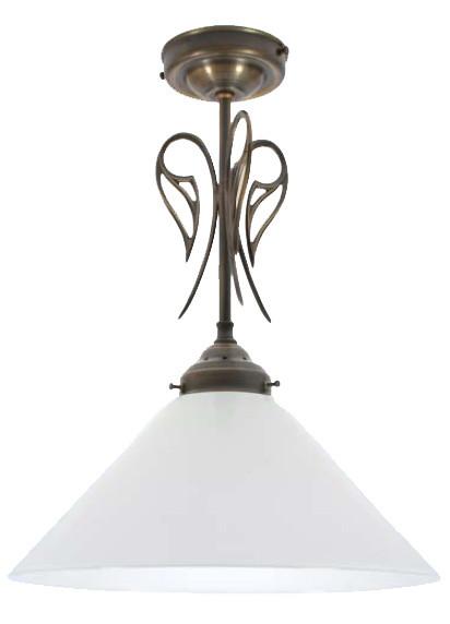 Deckenleuchte Flurleuchte Antik-Optik, 27cm