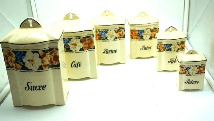 Küchendosen France Original Vorratsdosen Vintage