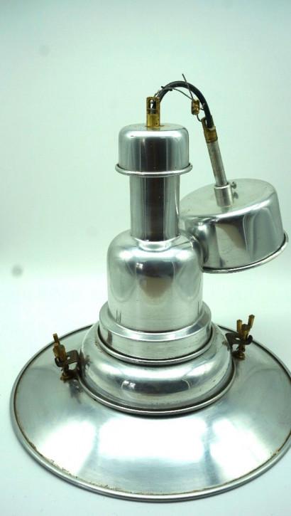 Crome Lampe Deckenleuchte Art Deco Stil